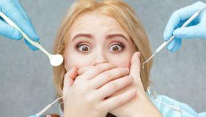 lom paura del dentista